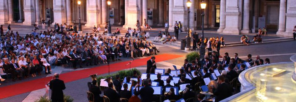 Concerto in campidoglio (Roma) Settembre 2011
