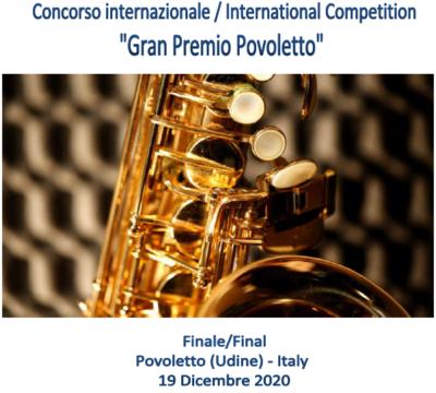 Gran Premio Povoletto 2020 - Saxophone
